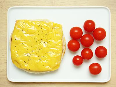 マフィン♡ハム&チーズ