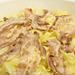 キャベツと豚肉の蒸し鍋