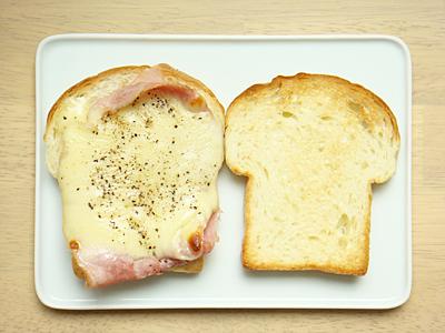 トーストサンド ~ハム&チーズ~