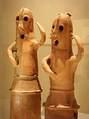 埴輪「踊る人々」