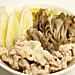 【塾後】白菜と豚肉の鍋