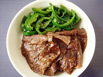 【塾前】牛すき丼