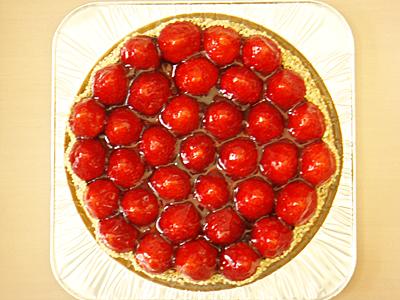 苺タルトで♪ Happy Birthday 2012
