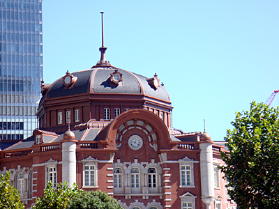 東京駅丸の内駅舎の北ドーム