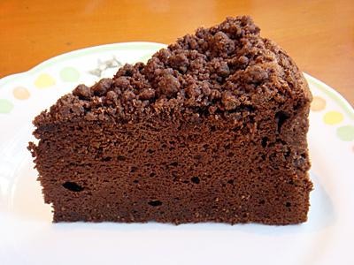「チョコレートクランブルケーキ」