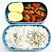 6/19 豚肉と野菜の黒酢炒め弁当