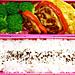 11/11 赤ピーマンの肉詰め弁当