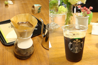 コーヒーセミナー2013アイスコーヒー@スタバ