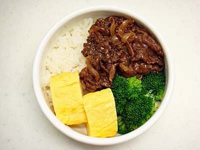 6/26 牛しぐれ煮弁当