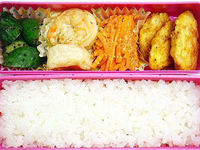 9/24 えびマヨ&鶏ピカタ弁当