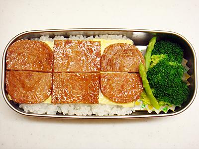 10/4 スパム丼弁当