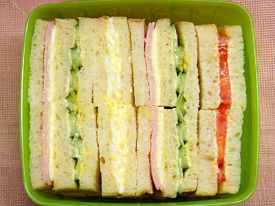 2/5 サンドイッチ弁当