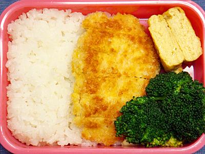 2/6 鶏ムネ肉のパン粉焼き弁当