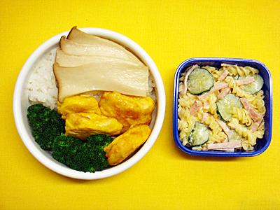 2/21 鶏ムネ肉のピカタ弁当
