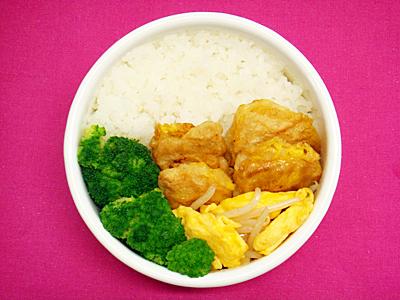 6/23 鶏ムネ肉のピカタ弁当