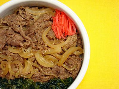 6/26 牛すき煮弁当