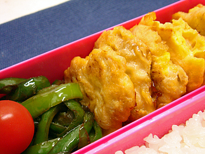 9/25 鶏ムネ肉のピカタ弁当