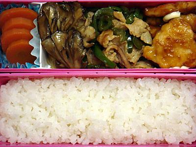 11/5 鶏ムネ肉の甘酢煮弁当