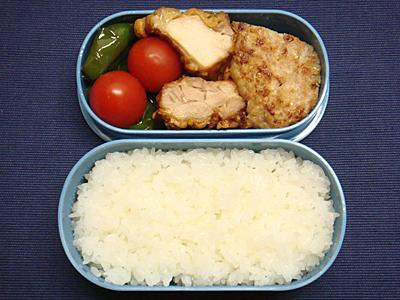 11/25 鶏から揚げ&ハンバーグ弁当