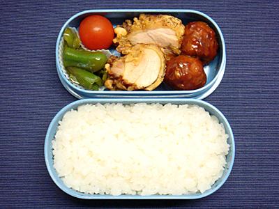 12/2 鶏から揚げ&ミートボール弁当