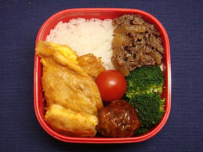 12/3 鶏ムネ肉のピカタ弁当
