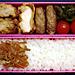 1/13 鶏から揚げ&ハンバーグ弁当
