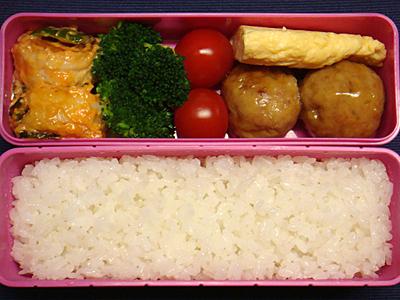 1/29 えびオーロラ&肉団子弁当