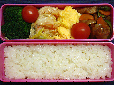 2/6 えびマヨ&酢豚弁当