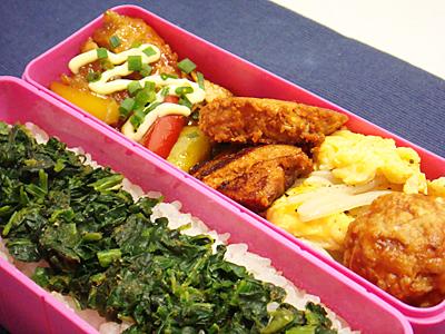 2/27 鶏の甘酢煮弁当