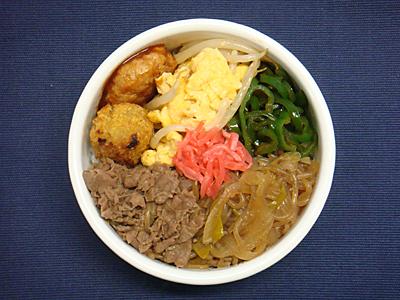 4/15 牛すき煮弁当