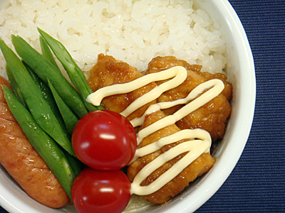 6/23 鶏の甘酢煮弁当
