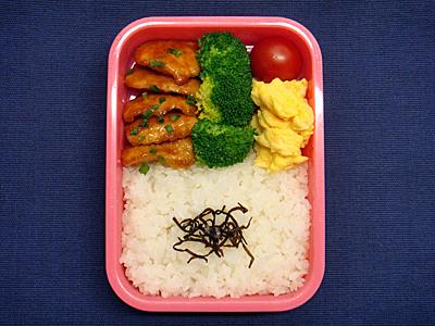 9/14 鶏の甘酢煮弁当