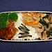 2/29 ほうれん草と豚肉の炒めもの弁当