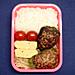 4/13 ピーマンの肉詰め弁当