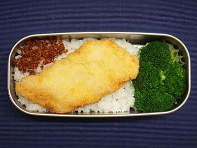 2/26 白身魚のフライ弁当