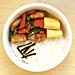 8/31 鶏肉とピーマンのマヨ醤油炒め弁当